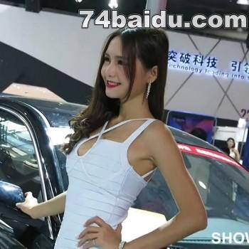 2014广州车展181可爱清纯正妹惹人爱