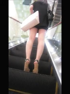 55-黑安全裤黑#s*e*高跟美女