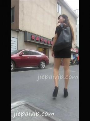 15-超短裙肉丝妹子,很#xing*感