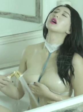 m371-王俪丁 黑丝小皮鞭+浴室_推_奶(下)宣传片#BJ-果哥出品