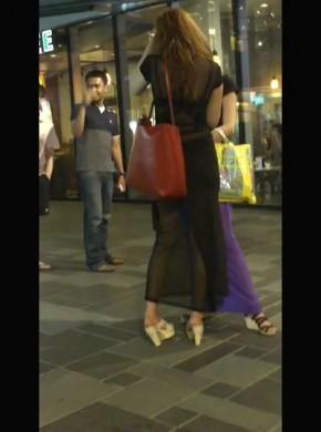 67-黑#s*e*透&视薄纱长裙