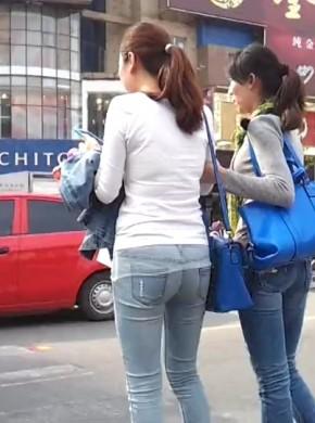 街拍热裤074