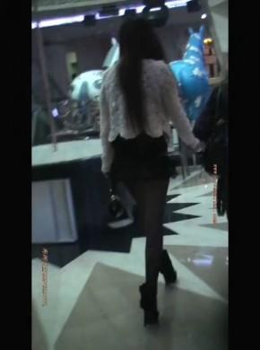 28-商场#xing*感黑丝高跟女