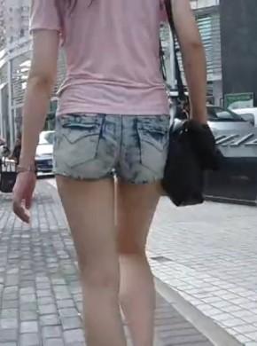 街拍热裤022