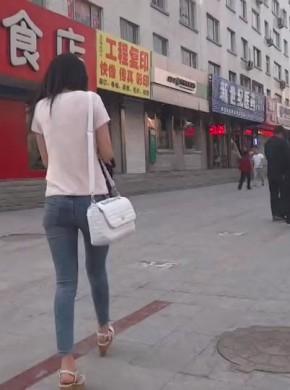 街拍热裤005