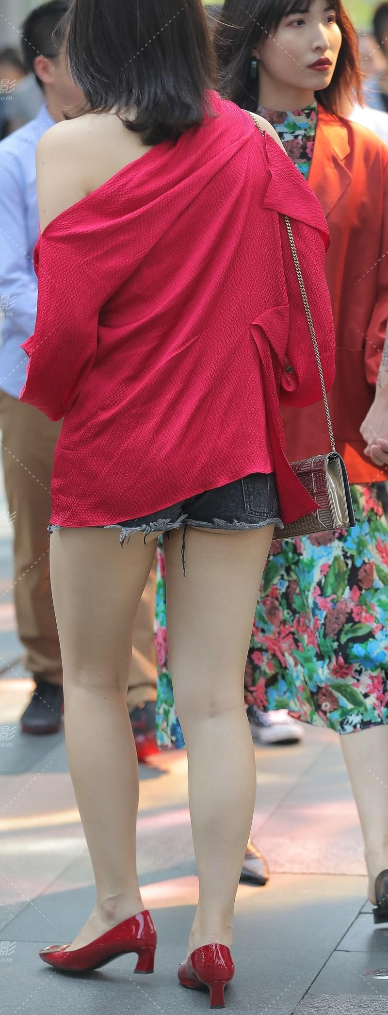 街拍短裤 (14)