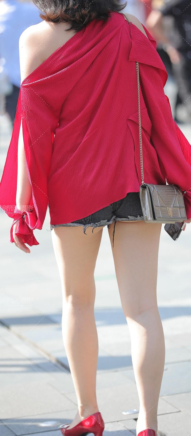 街拍短裤 (15)