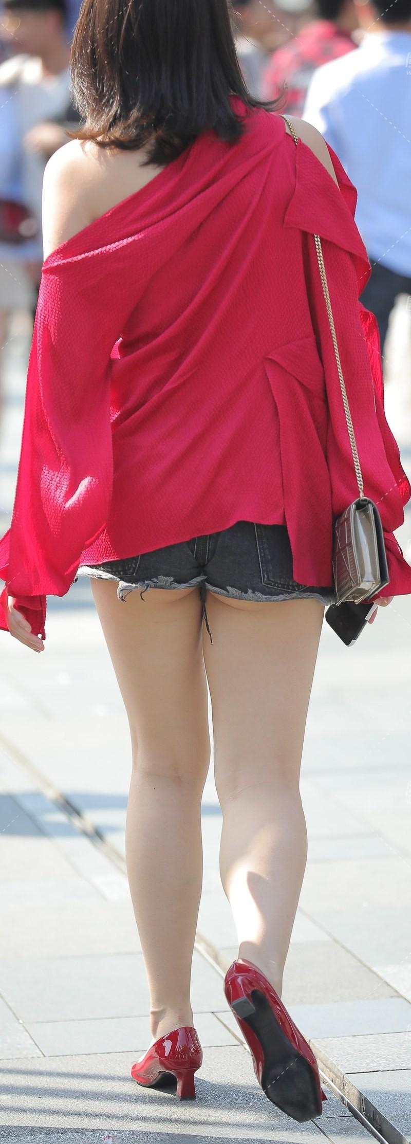 街拍短裤 (2)