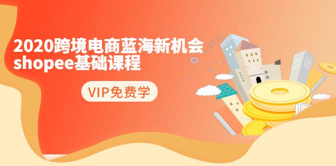 2020跨境电商蓝海新机会-shopee基础课程:简单粗暴日报爆