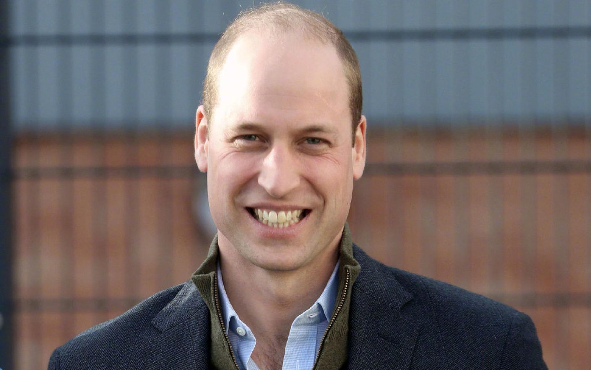 威廉王子被评为最性感秃顶男人 巨石强森不服