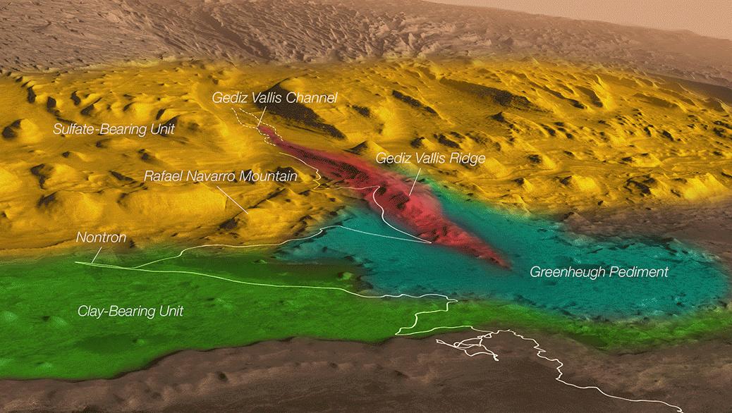 NASA 对一火星山丘命名,纪念死于新冠肺炎的科学家
