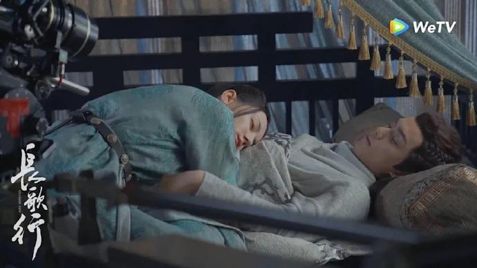 吴磊《长歌行》帅抱迪丽热巴好幸福